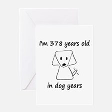 54 Dog Years 6-2 Greeting Cards