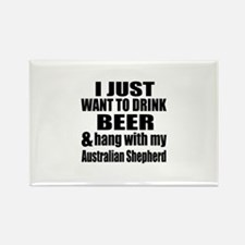 Hang With My Australian Rectangle Magnet (10 pack)