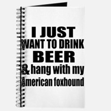 Hang With My American foxhound Journal