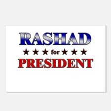RASHAD for president Postcards (Package of 8)