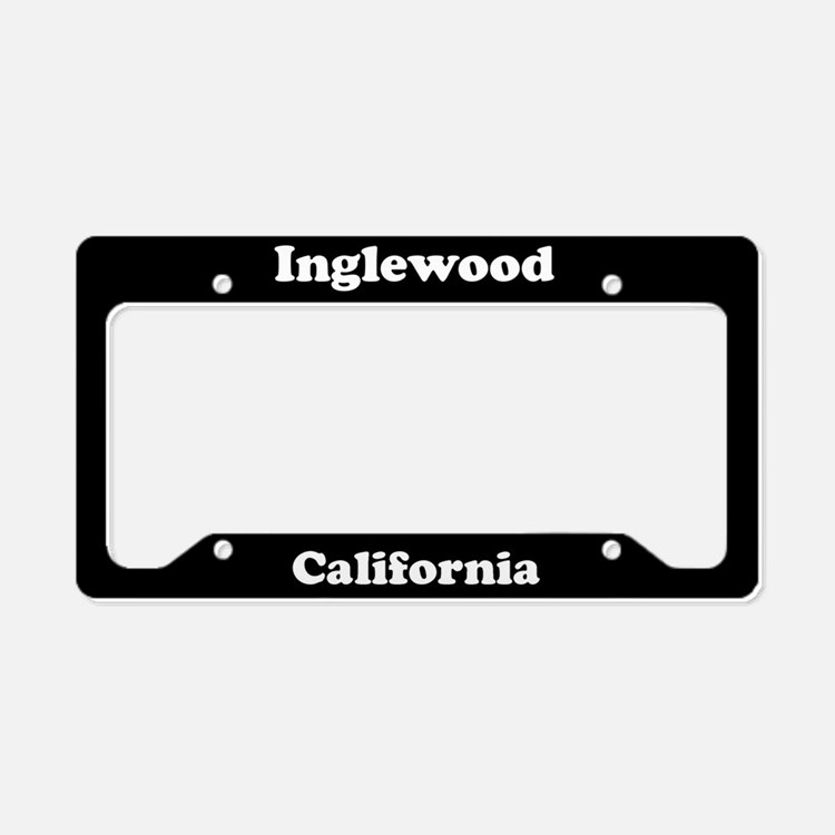 Inglewood CA License Plate Holder