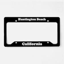 Huntington Beach CA License Plate Holder