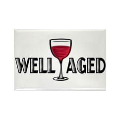Well Aged Rectangle Magnet (10 pack)