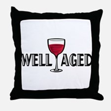Well Aged Throw Pillow