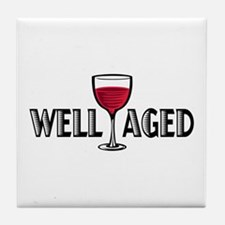 Well Aged Tile Coaster