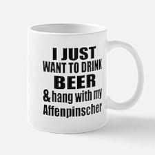 Hang With My Affenpinscher Mug