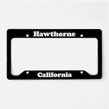 Hawthorne CA License Plate Holder