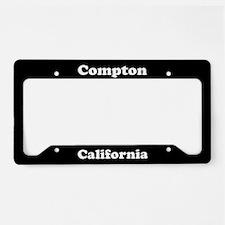 Compton CA License Plate Holder
