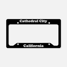 Cathedral City CA License Plate Holder