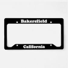 Bakersfield CA License Plate Holder