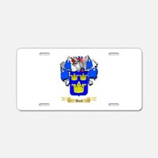 Ward Aluminum License Plate
