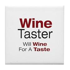 Wine Taster Tile Coaster