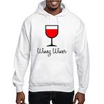 Winey Winer Hooded Sweatshirt