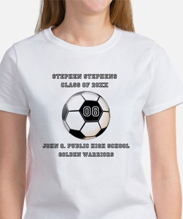 Class Year Soccer Number Name   School T-Shirt