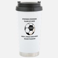 Class Year Soccer Number Name | School Travel Mug