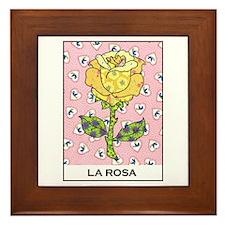 La Rosa Framed Tile