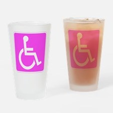 Handicapped Disabled Female Woman Drinking Glass