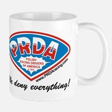 Prda Cannonball Van Mug Mugs