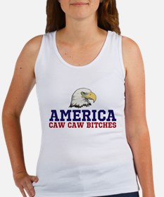 CAW CAW BITCHES Tank Top