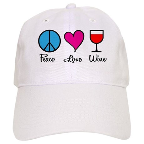 Peace Love Wine Cap