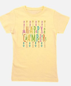 Funny Camp Girl's Tee
