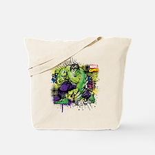 Hulk Watercolor Tote Bag
