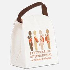 Cool Babywearing Canvas Lunch Bag