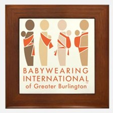 Cute Babywearing Framed Tile
