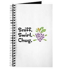 Sniff, Swirl, Chug Journal