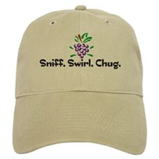 Sniff, Swirl, Chug Baseball Cap