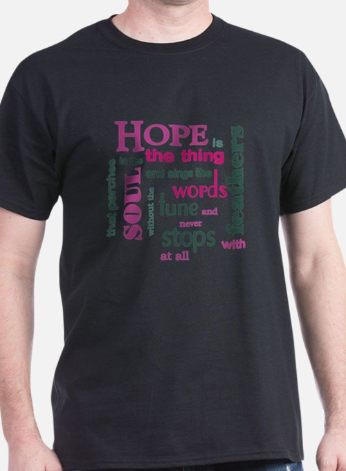 Hope with Feathers T-Shirt