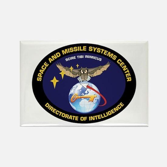 Space & Missile Cntr D o I Rectangle Magnet