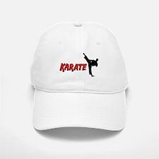 Karate Baseball Baseball Cap