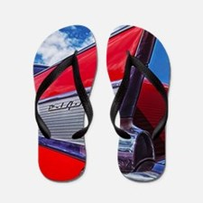 Red Bel Air Flip Flops