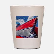 Red Bel Air Shot Glass