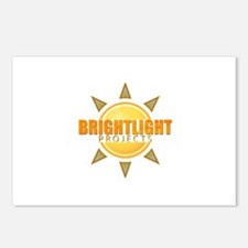 Bright Light Projects Logo Postcards (Package of 8