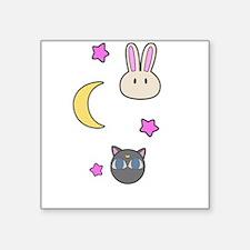 Chibi Usa Sailor Moon Bunnies and Luna P Sticker