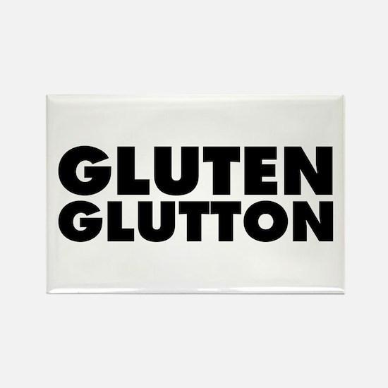 Gluten Glutton Rectangle Magnet