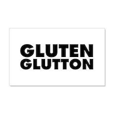 Gluten Glutton Wall Decal