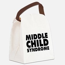 Middle Child Syndrome Canvas Lunch Bag