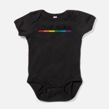 Funny Equal love equal rights Baby Bodysuit