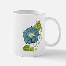 Blue Morning Glory Mugs