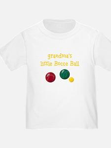 Grandma's Bocce T-Shirt