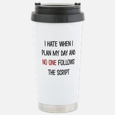 I PLAN MY DAY Travel Mug