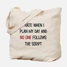 I PLAN MY DAY Tote Bag