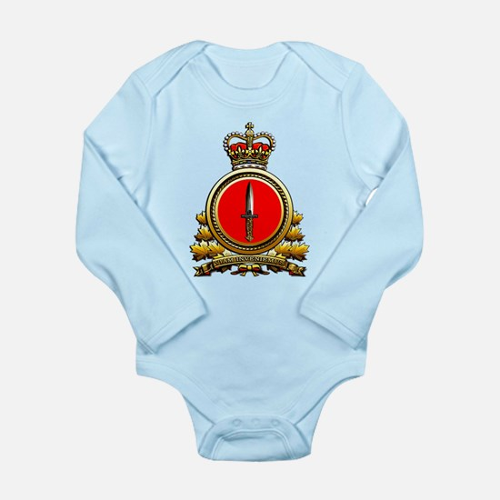 Special Operations Com Long Sleeve Infant Bodysuit