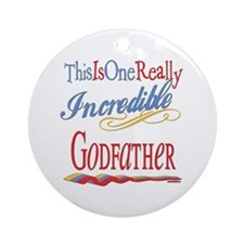 Incredible Godfather Ornament (Round)