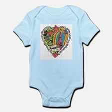 Guadalupe Heart Infant Bodysuit