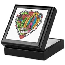 Guadalupe Heart Keepsake Box
