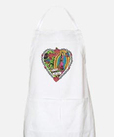 Guadalupe Heart BBQ Apron